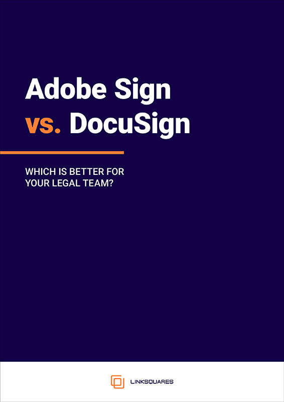 Adobe Sign vs DocuSign