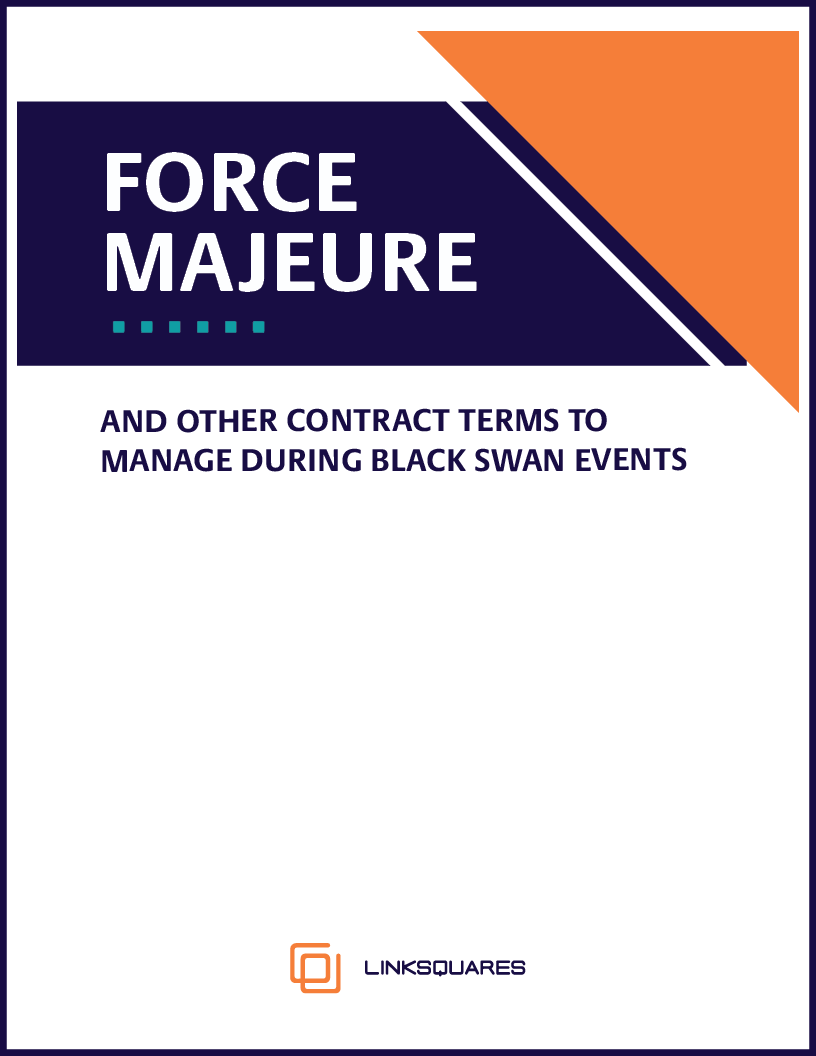 Force Majeure and Other Contract Terms to Manage During Black Swan Events